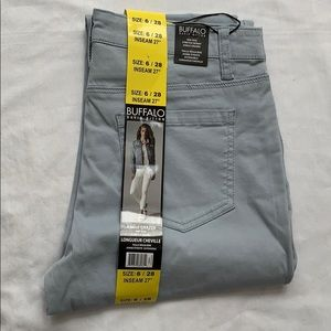 Buffalo David Bitton skinny ankle pant Sz 6 NWT